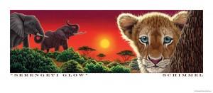 Serengeti Glow - Poster